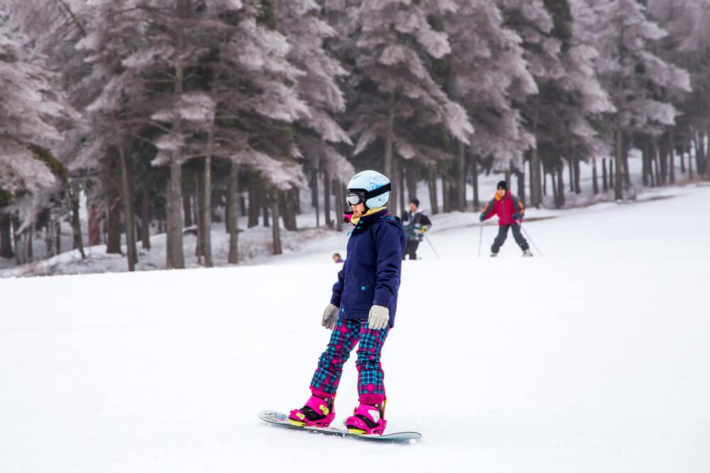 ski resort in japan