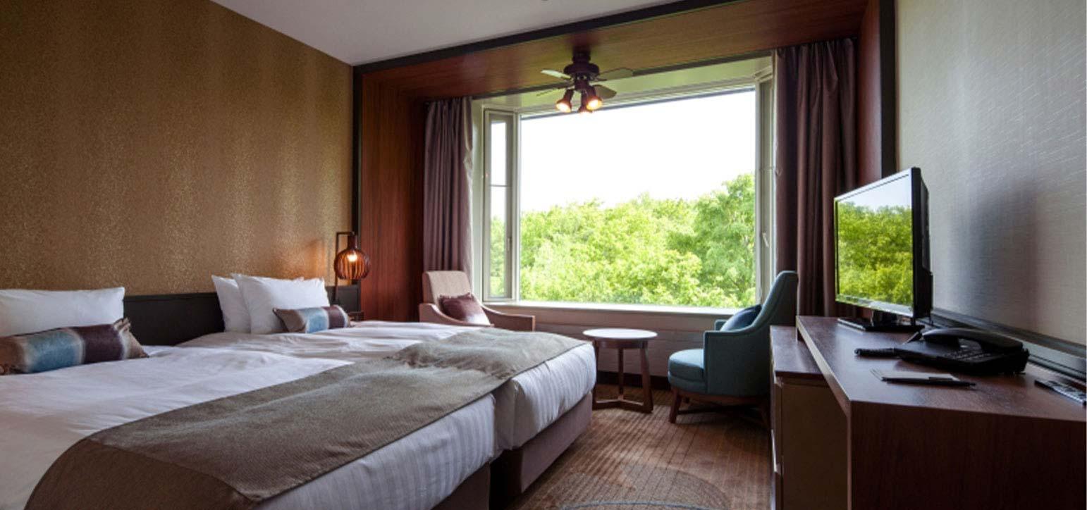 西樓-高級雙床房 林邊