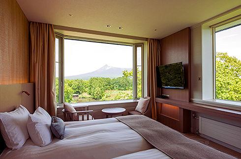 駒岳轉角雙床房