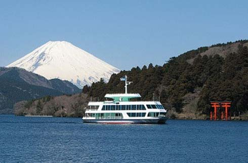 箱根蘆之湖遊覽船(湖尻港)