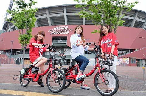 Hiroshima City Share Cycle Peacecle