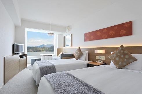 高級樓層 雙床房