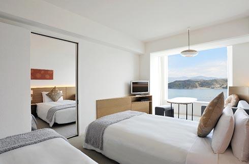 高級樓層 相通雙床房