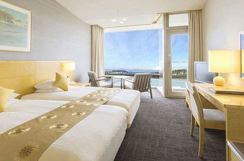 Hollywood Twin Room~Mt.Fuji & Enoshima View~