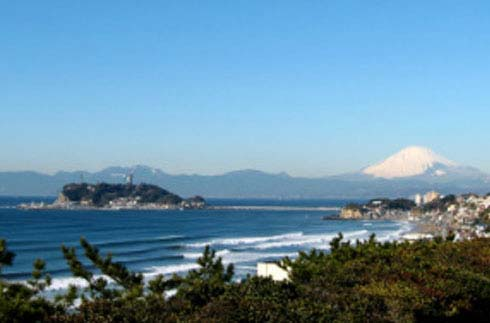 ENOSHIMA AND MT. FUJI