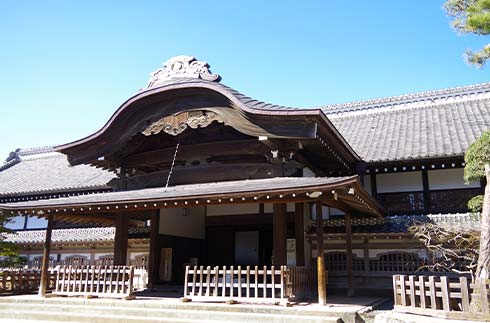 Residential palace in the inner citadel of Kawagoe Castle