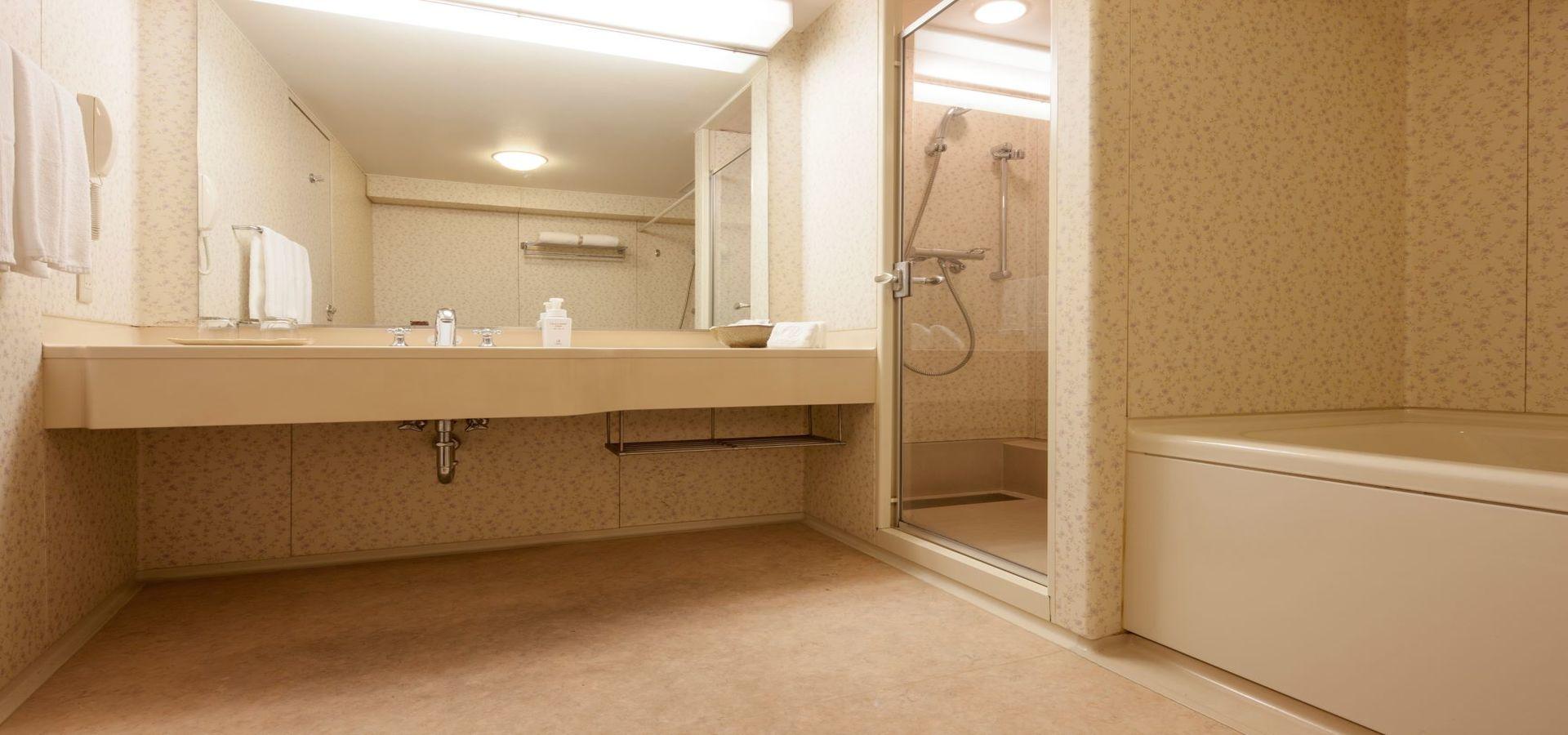 森林樓層 雙床房 帶淋浴間