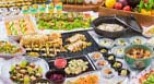 Dinner summer buffet-local Kyoto fair-
