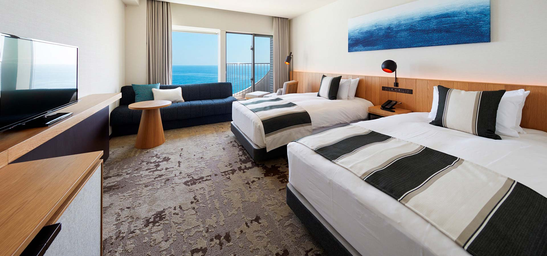 Premiun Ocean View Twin
