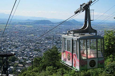 八幡山索道