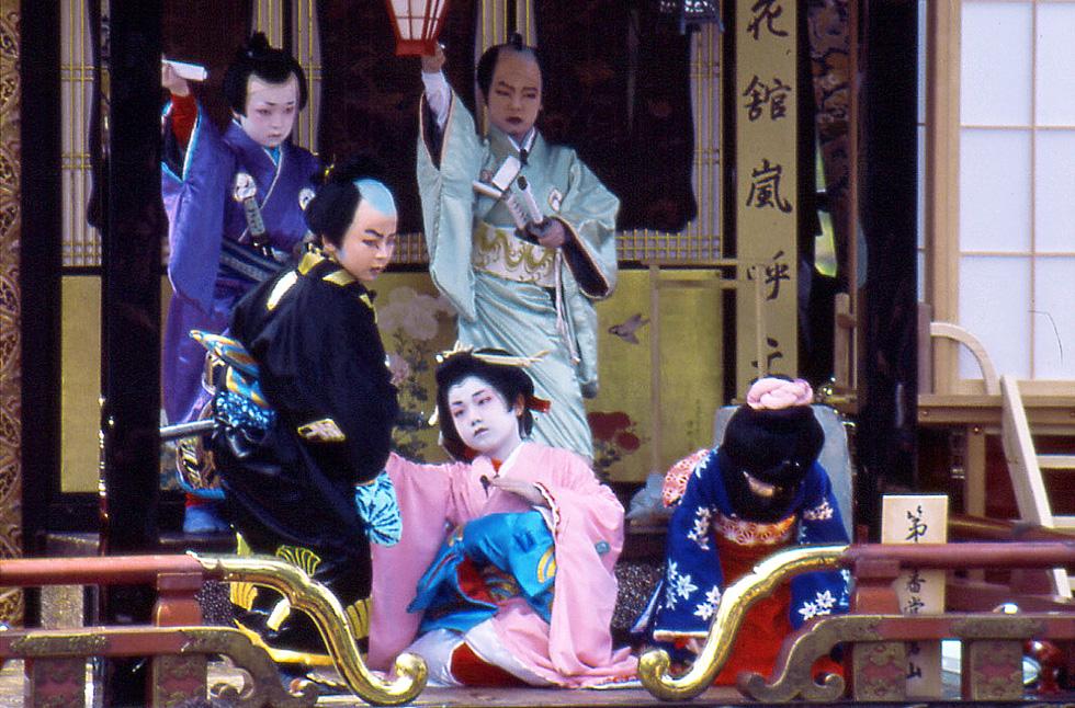 Kids Kabuki in Nagahama