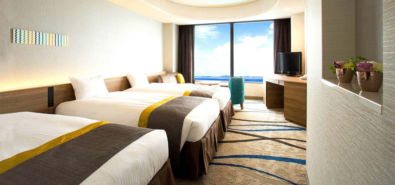 湖景樓層/雙床房