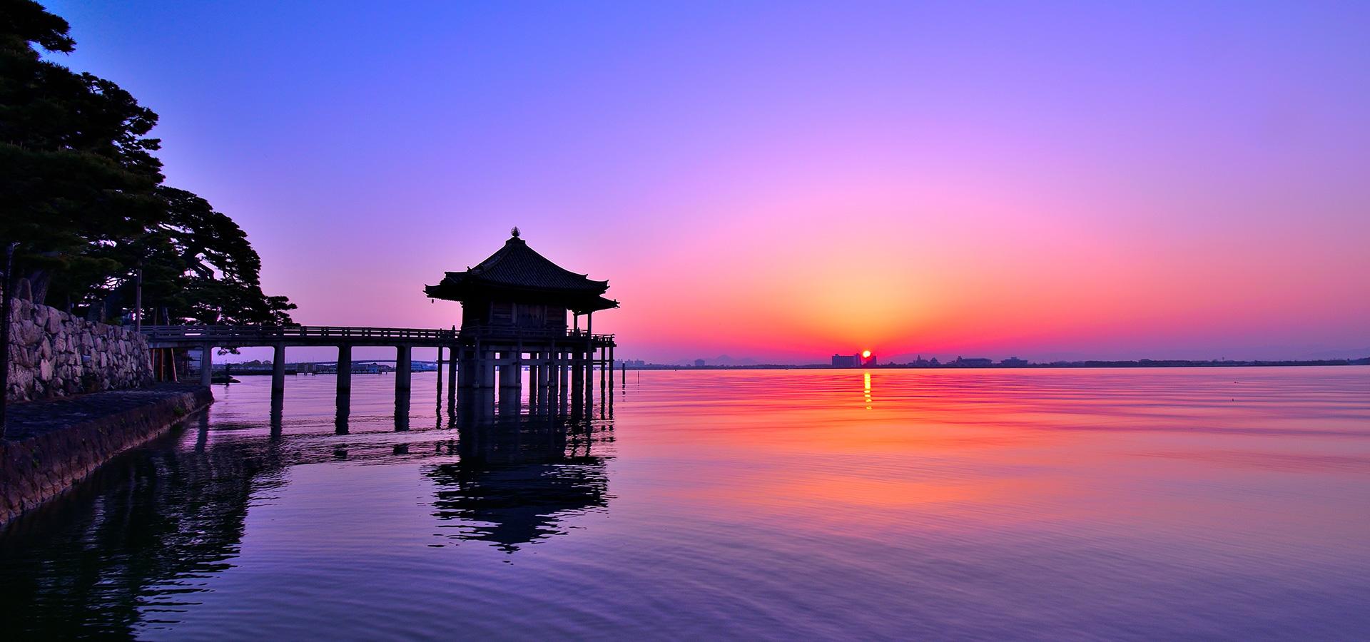 Ukimido (floating temple)
