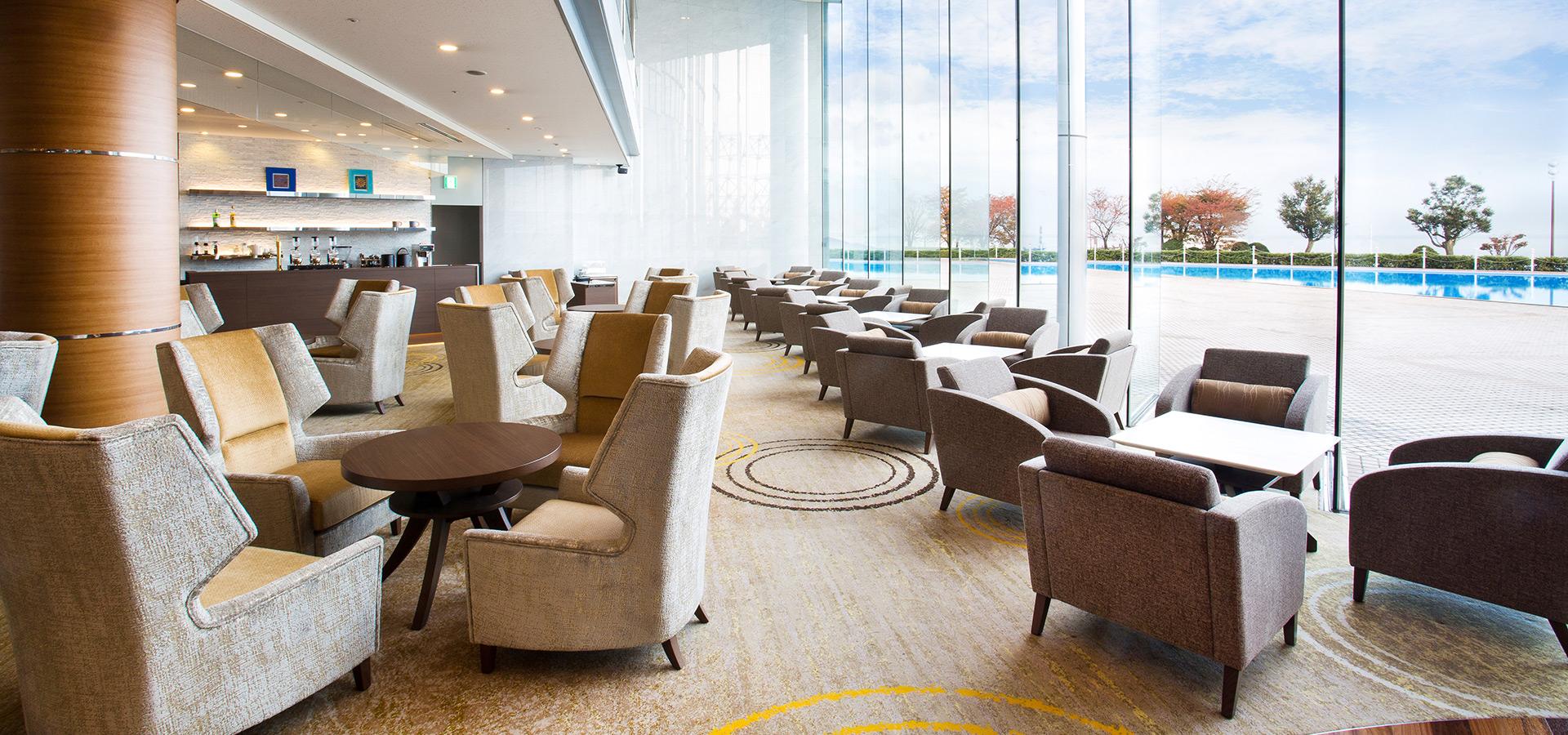 Lobby Lounge Port Nio Restaurant Lake Biwa Otsu Prince Hotel