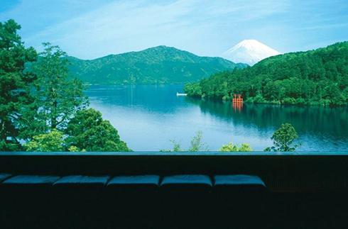 箱根 蘆之湖 成川美術館