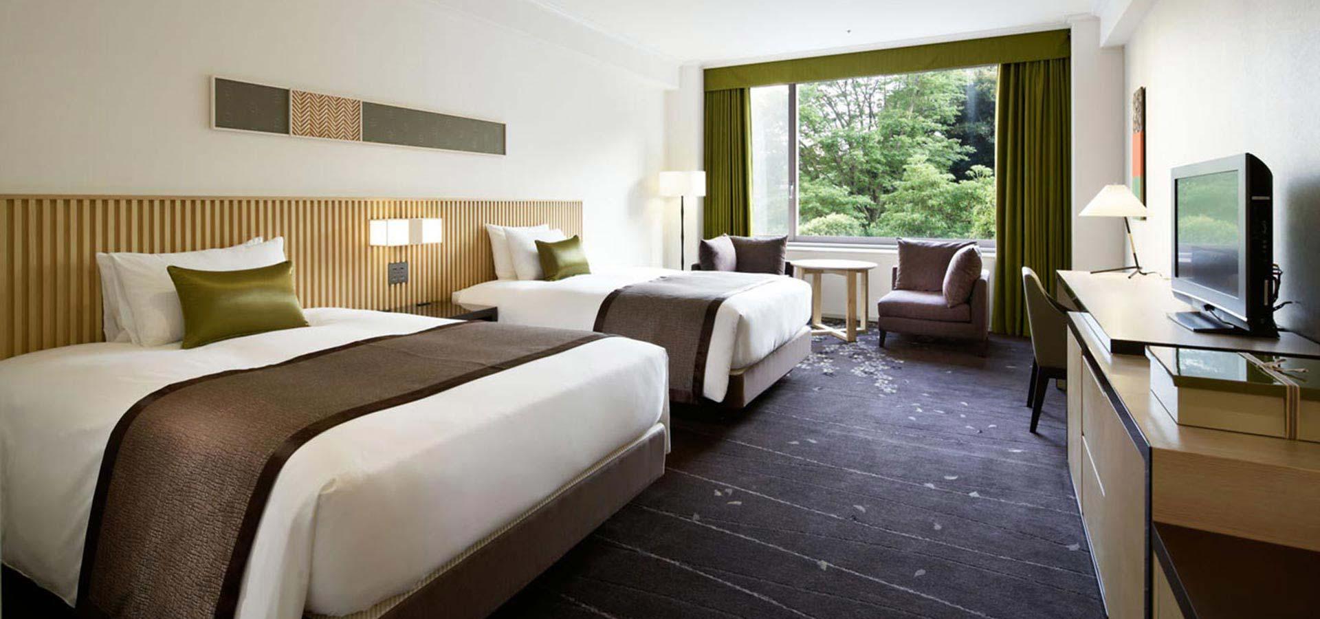 豪華房(2 張雙人床)