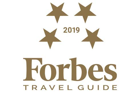 Named a Four-Star hotel by Forbes Travel Guide 2019