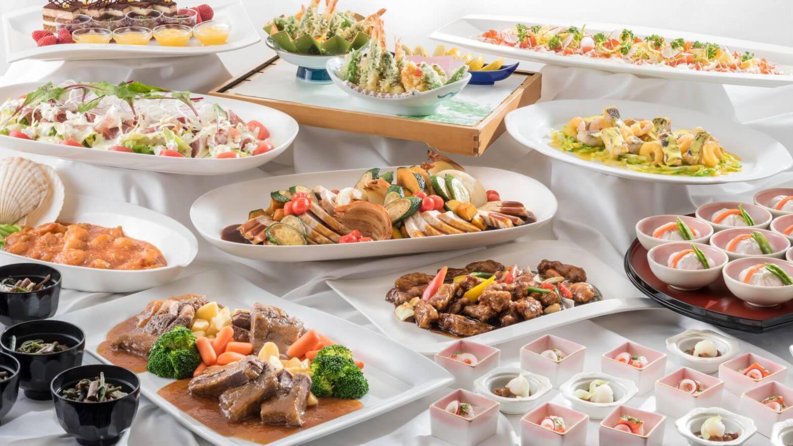 Kokusaikan Pamir [banquet plan] buffet style ¥ 7,000