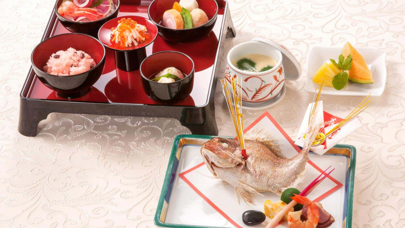 [For celebration of the beginning of eating and longevity] Celebration plan of Sapporo Prince Hotel