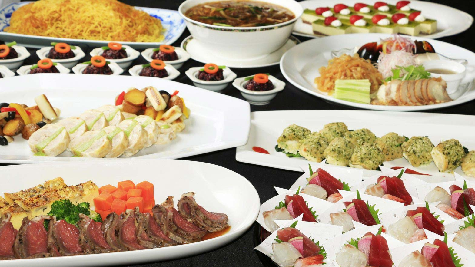 Kokusaikan Pamir [Year-end party / New year party] Japanese, Western and Chinese dishes ¥ 8,000