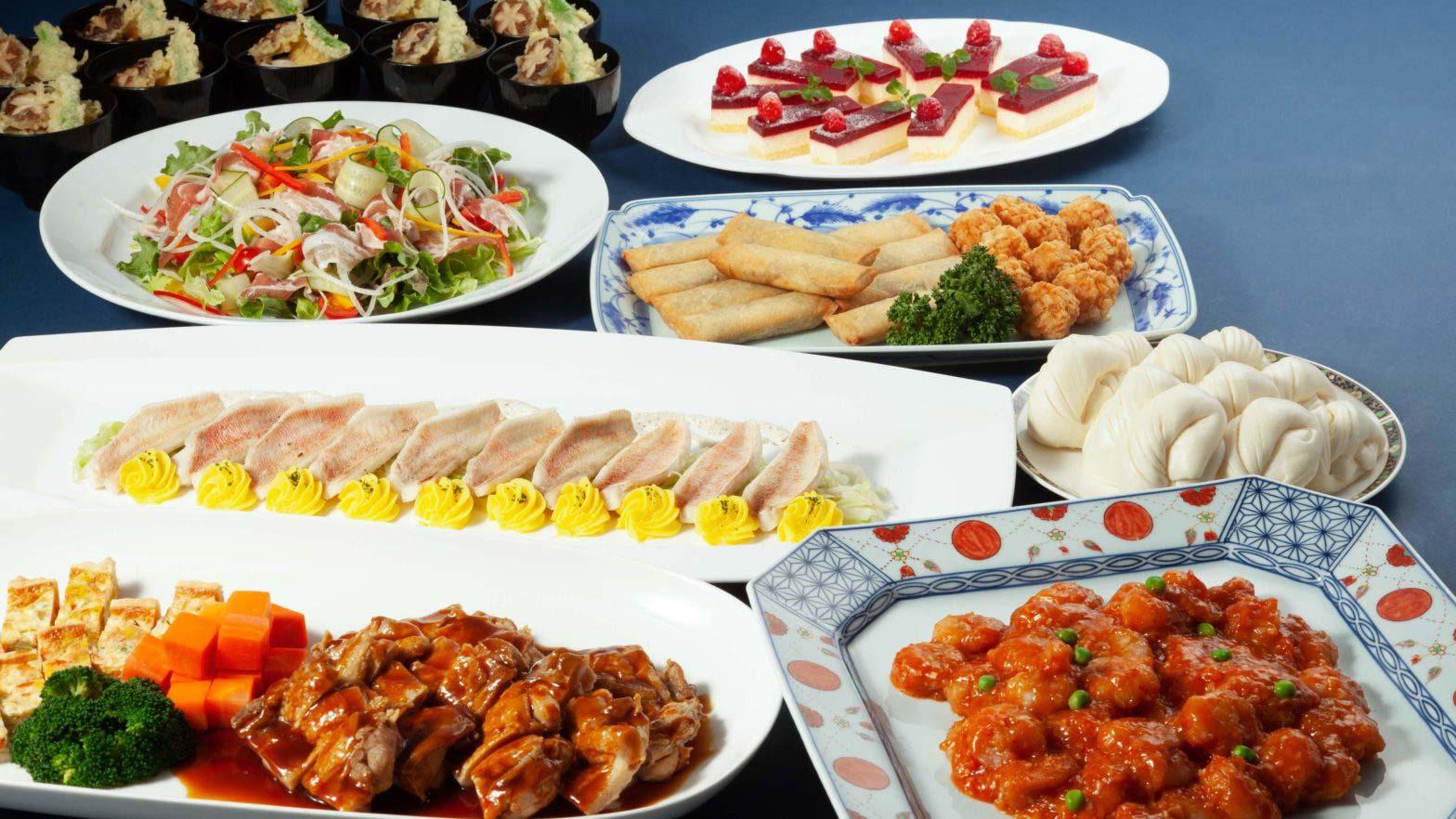 Kokusaikan Pamir [banquet plan] Japanese, Western and Chinese cuisine ¥ 6,000