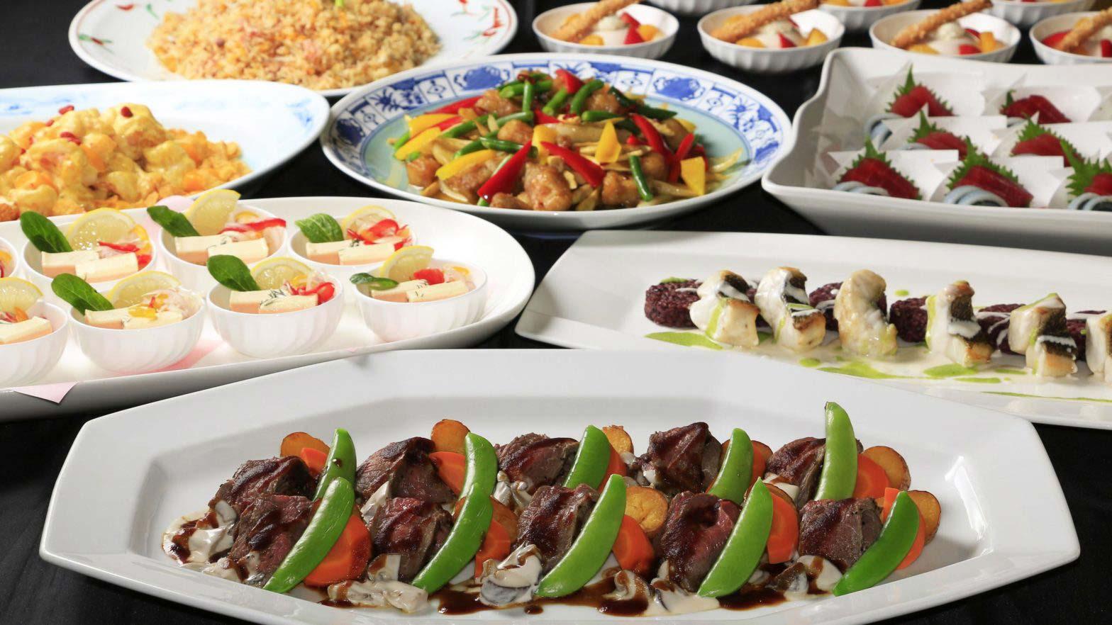 Kokusaikan Pamir [banquet plan] Japanese, Western and Chinese cuisine ¥ 8,000