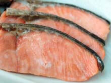 Hokkaido salmon