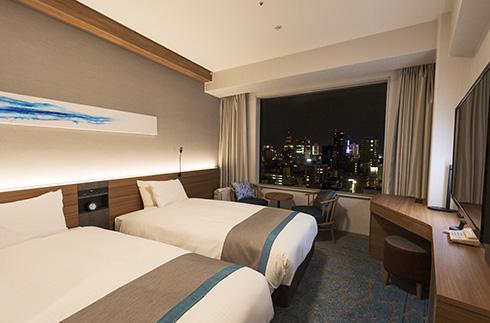 슈페리어 트윈 룸 (14 – 20층)