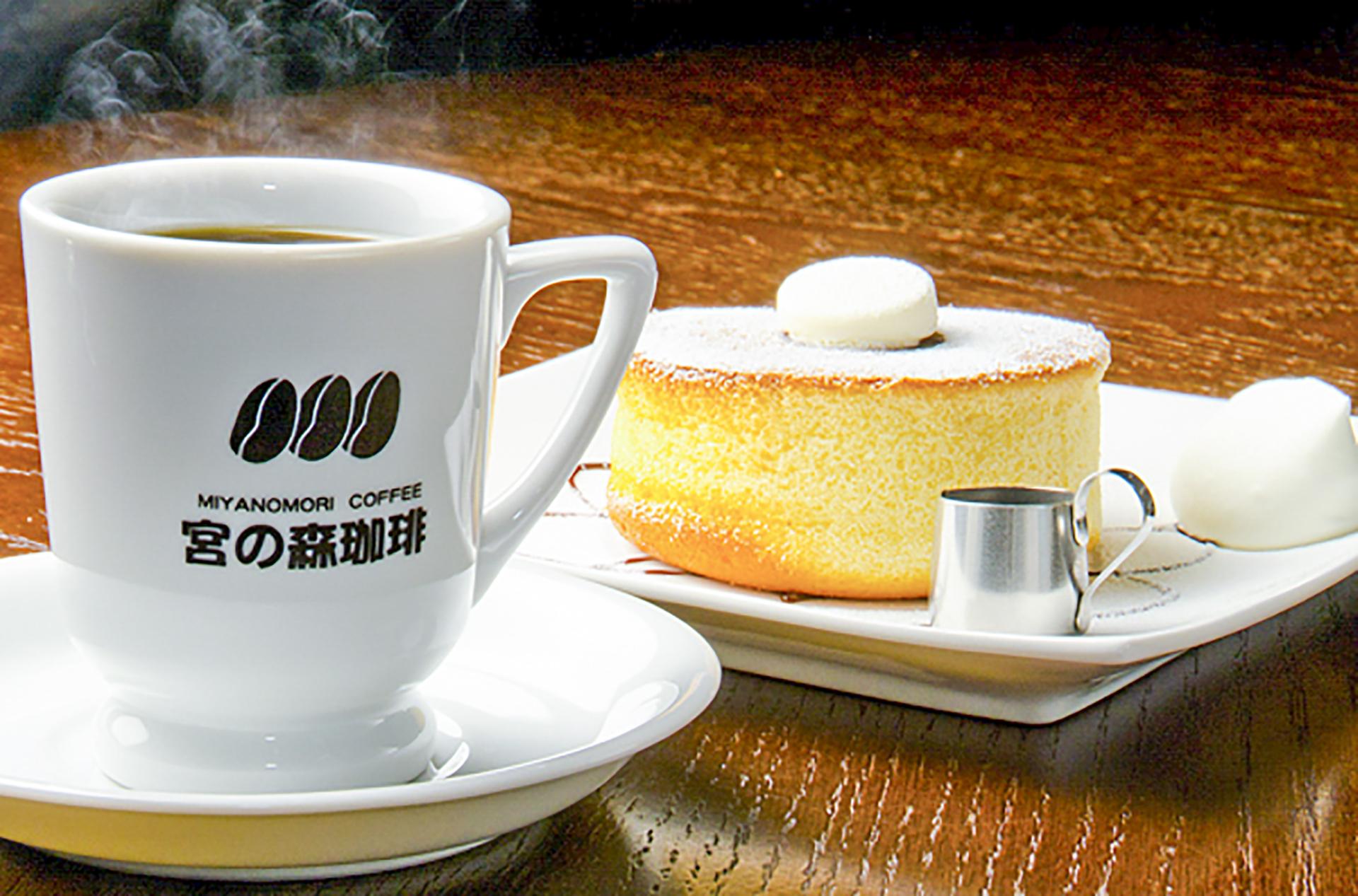 미야노모리 커피 삿포로 프린스 호텔 카페숍
