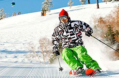 志賀高原燒額山滑雪場