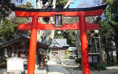 白濱神社(伊豆最古老的神社)