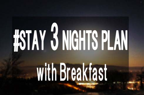 Prince Special 3 Nights Stay with Breakfast
