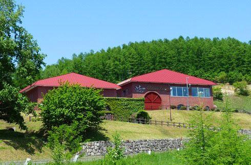 후라노 와인 공장