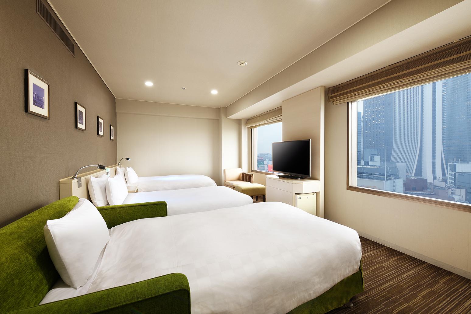 豪華雙床房 配有沙發床