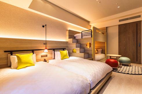 雙床房 配有雙層床