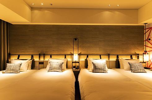 Deluxe Corner Twin Rooms