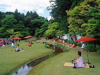 Chuson-ji Temple Autumn Fujiwara Festival
