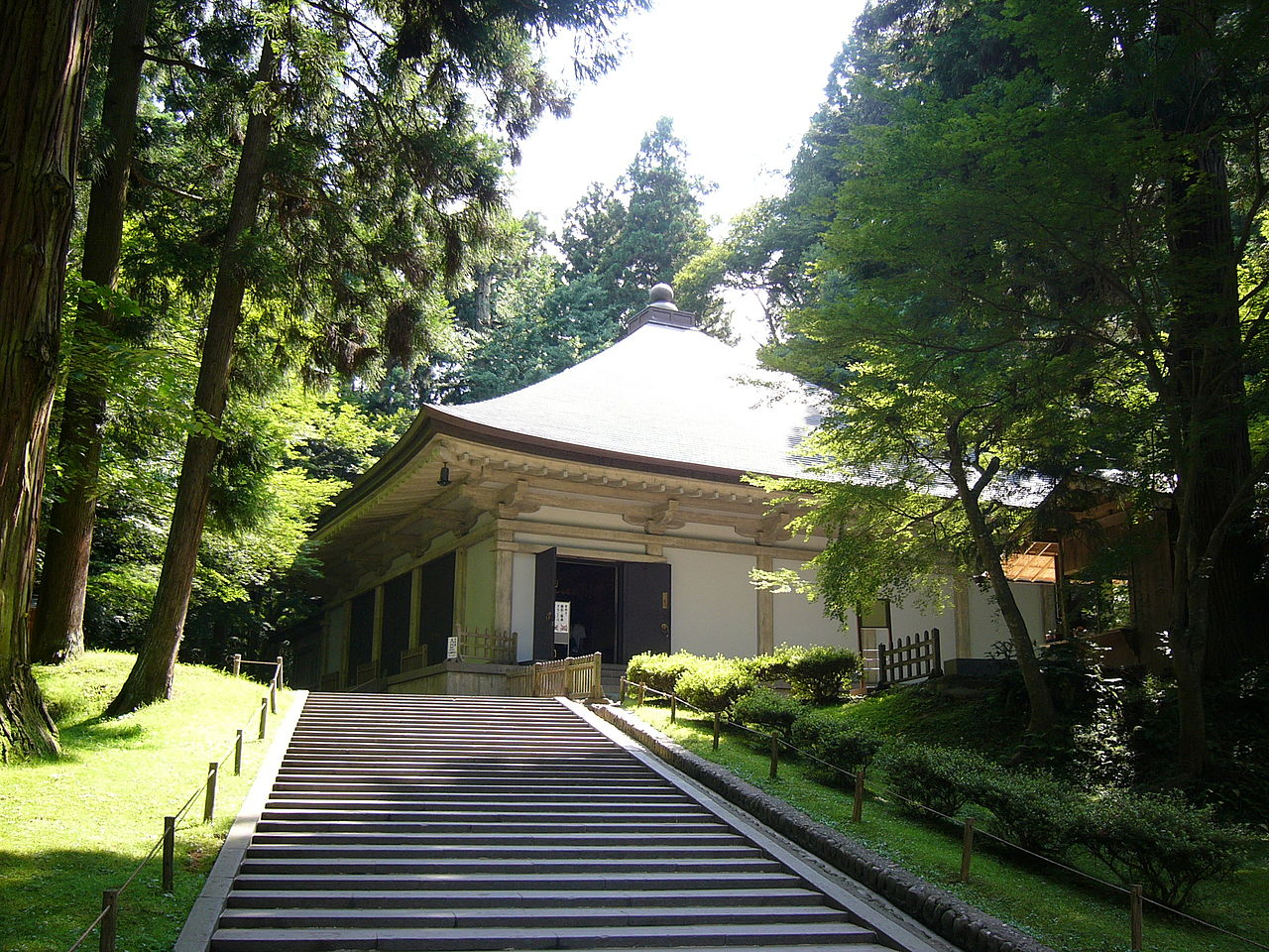 The Golden Hall of Chosonji Temple