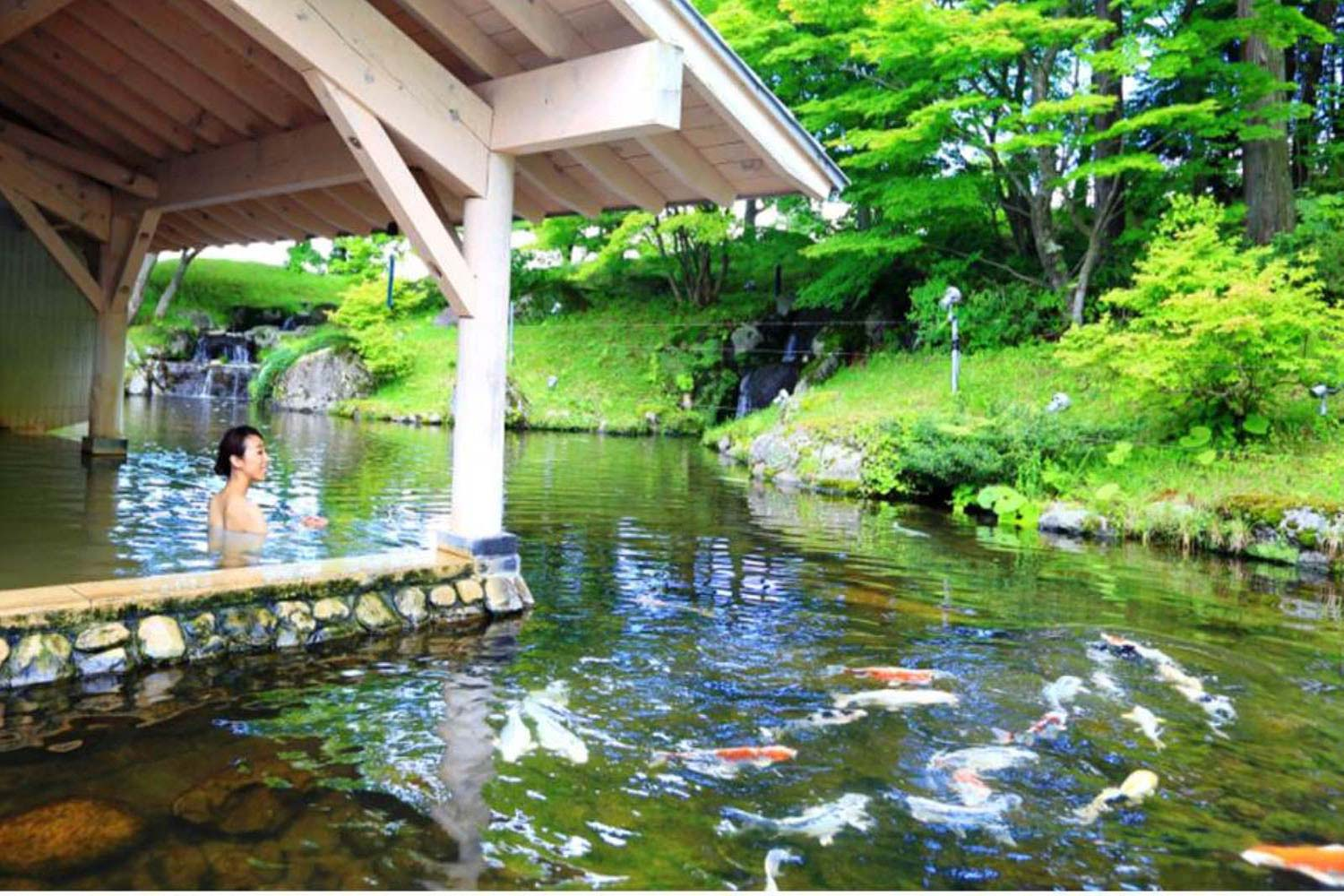 "Outdoor Hot Springs ""Takakura Onsen"""