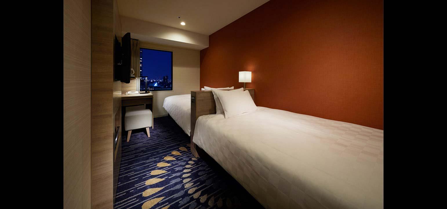 시티 (10-24층) – 트윈 룸 타입C