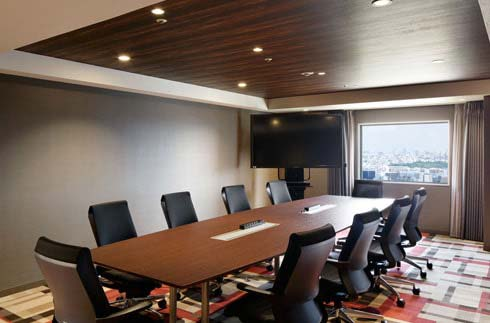 Conference Room (For guests and visitors *Reservation required)