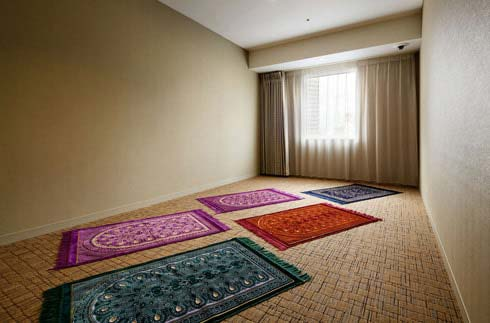 穆斯林祈祷室(住宿者专用)