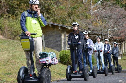 "[NEWS RELEASE] Launched ""Hakone Ashinoko Segway Nature Experience Tour"""