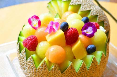 "[NEWS RELEASE] Sales of ""Marumaru Melon Parfait"""