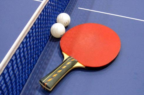 Information on table tennis corner