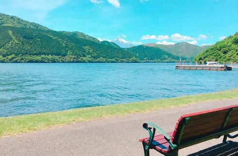 "Promotional movie for summer resort ""Lake Hakone"""