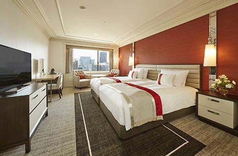 豪華雙床雙人房(高樓層)