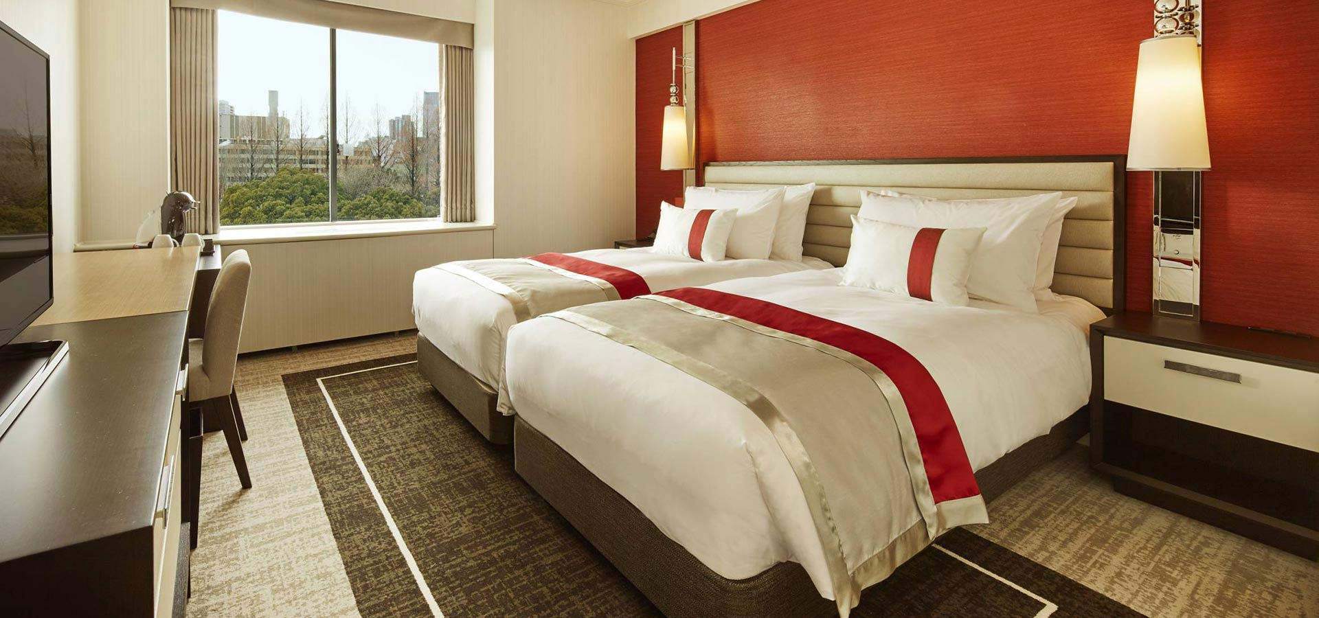 Superior Twin Room (Upper Floor) , Accommodation in Tokyo Prince Hotel