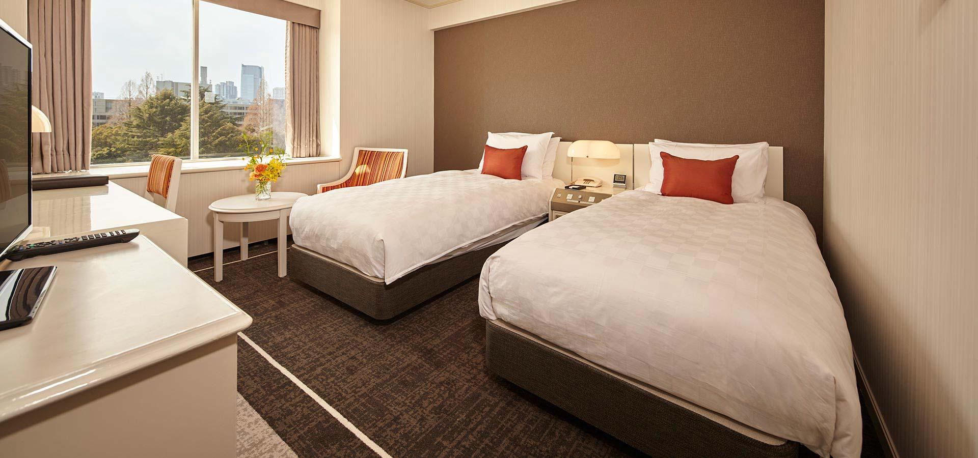 高級雙床雙人房(高樓層)