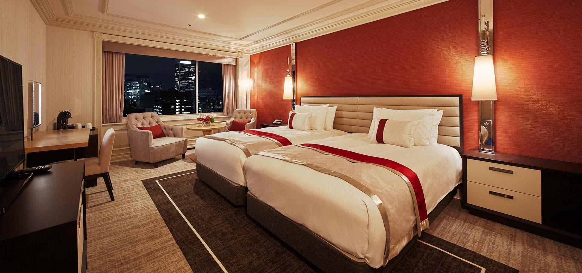 俱樂部豪華雙床雙人房